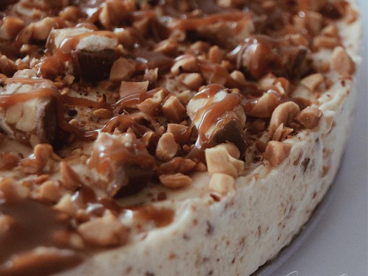Snickers torta sütés nélkül
